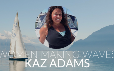 Trusting Your Instincts Onboard: Kaz Adams